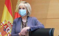 Verónica Casado, consejera de Sanidad de la Junta de Castilla y León. (Foto. Cortes CyL)