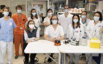 El grupo de expertos liderado por Darío García de Viedma (Foto: Hospital Gregorio Marañón)
