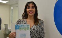 La enfermera Matilde Castillo Hermoso, del Hospital Nacional de Parapléjicos de Toledo, coordinadora de la guía (Foto: CGE)