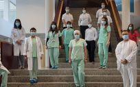 Equipo de la Unidad del Paciente Crónico Complejo del Hospital Universitario de Fuenlabrada (Foto. Hospital Universitario de Fuenlabrada)