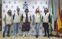 Equipo de Solidaridad Enfermera en Almería (Foto. CGE)
