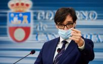 El ministro de Sanidad, Salvador Illa, durante su visita a Cantabria (Foto: Juan Manuel Serrano Arce / Europa Press)