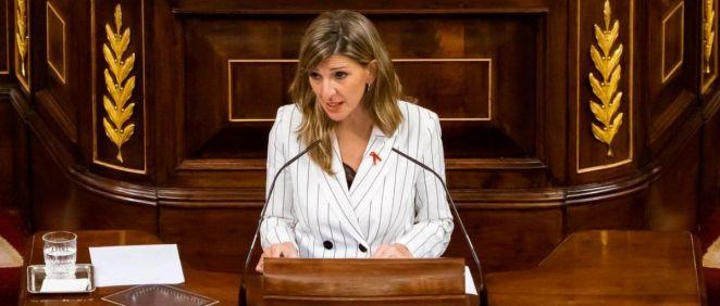 Yolanda Díaz, ministra de Trabajo y Economía Social (Foto: Congreso)
