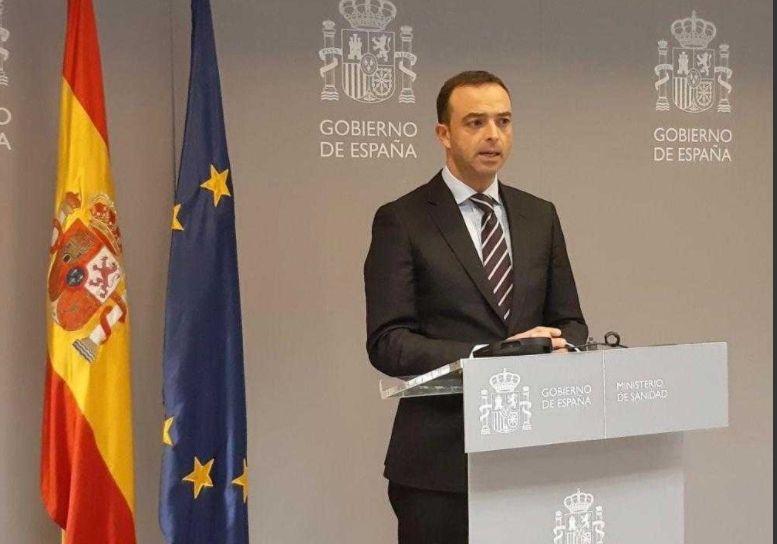 El secretario general de Salud Digital, Información e Innovación del Ministerio de Sanidad, Alfredo González (Foto. Ministerio de Sanidad)