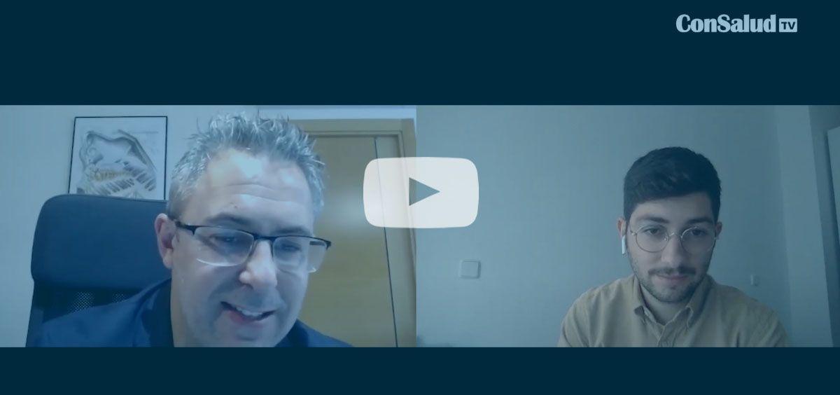 ConSalud TV entrevista a Julio Gómez Caballero, coordinador de Trabajando en positivo