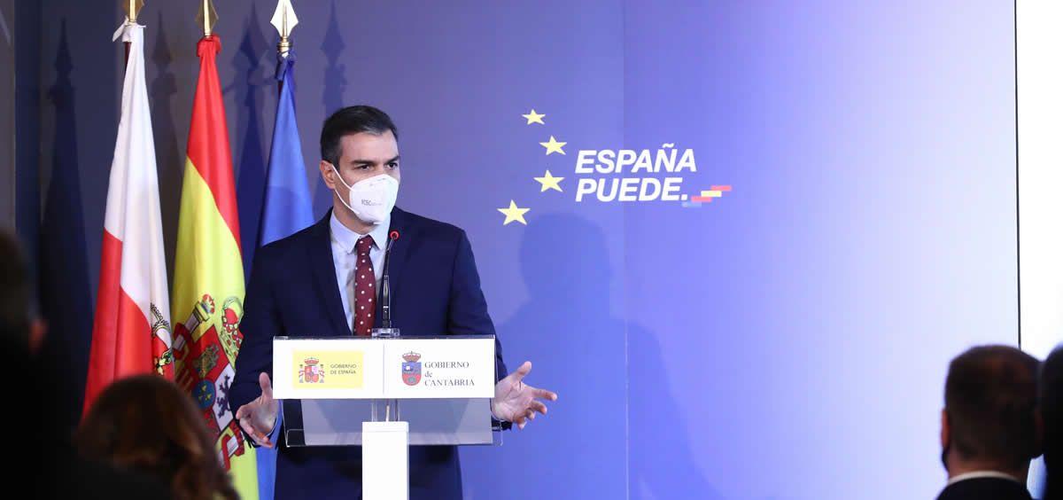 El presidente del Gobierno, Pedro Sánchez (Foto. Pool Moncloa Fernando Calvo)