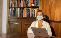 Paula Cuesta, psicóloga sanitaria y forense de AISS (Foto. AISS)