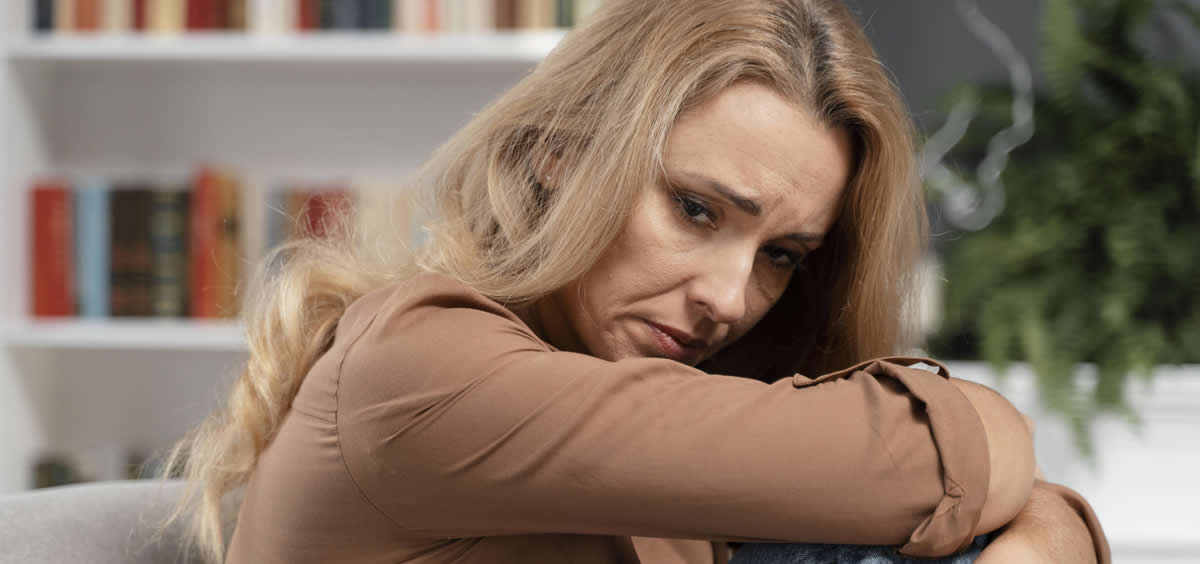 Mujer con depresión (Foto. Freepik)