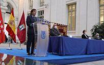 El alcalde de Madrid, José Luis Martínez Almeida (Foto. Ayuntamiento de Madrid)