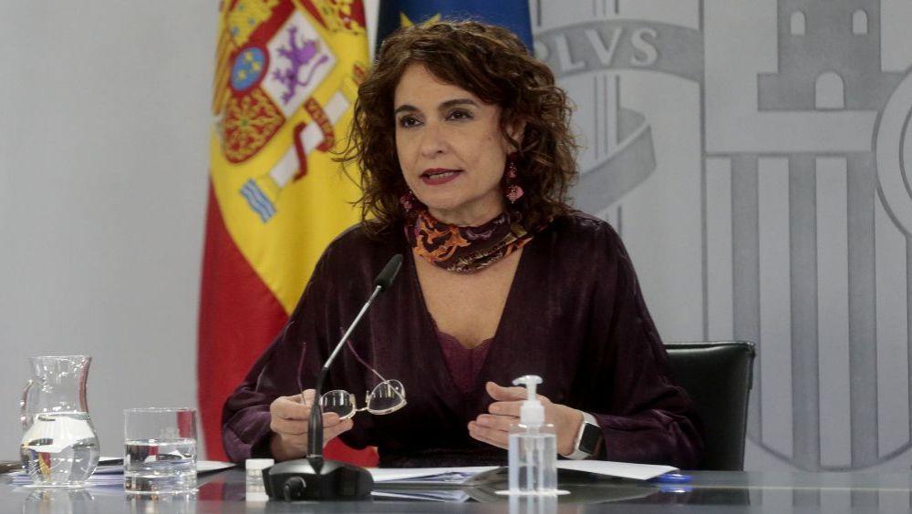 María Jesús Montero, portavoz del Gobierno y ministra de Hacienda (Foto: Pool Moncloa / JM Cuadrado)