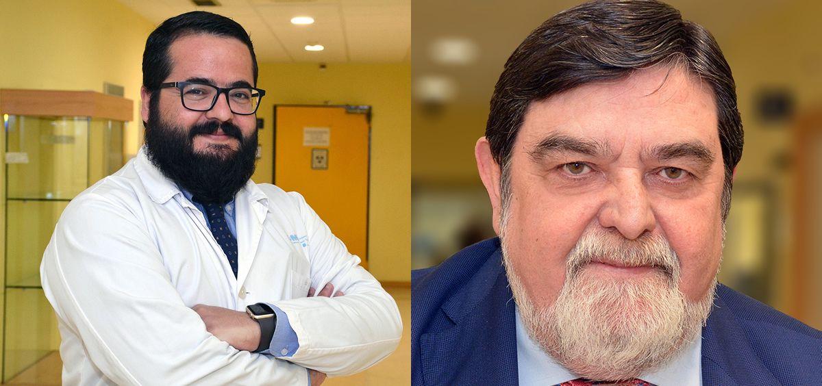 Los investigadores del Ciber de Obesidad y Nutrición (Ciberobn), Gabriel Martos y Jesús Argente (Foto. Fotomontaje ConSalud)