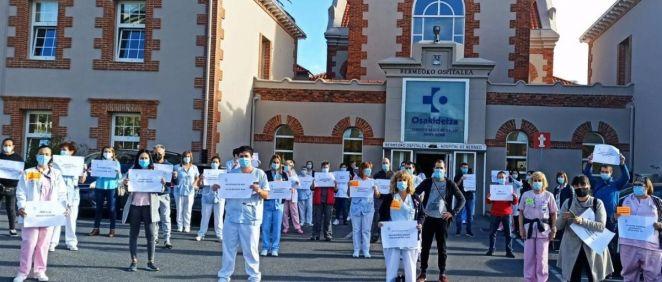 Trabajadores de Osakidetza (Foto. LAB)