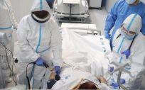 Entra en funcionamiento el Zendal que recibe a la primera paciente (Foto. D.SINOVA)