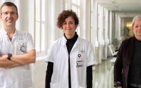 Los investigadores (Foto. Hospital Clínic de Barcelona)
