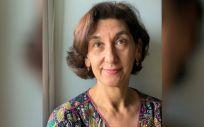 La presidenta de la Asociación Española de Trabajo Social y Salud (AETSyS), Agustina Hervás.