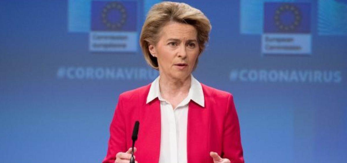 Ursula von der Leyen, presidenta de la Comisión Europea (Foto. CE)