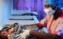Hospital a las afueras de Abiyán, en Costa de Marfil (Foto. UNICEF  FRANK DEJONGH)