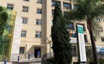 Fachada del Hospital Regional Universitario de Málaga (Foto. Junta de Andalucía/EP)