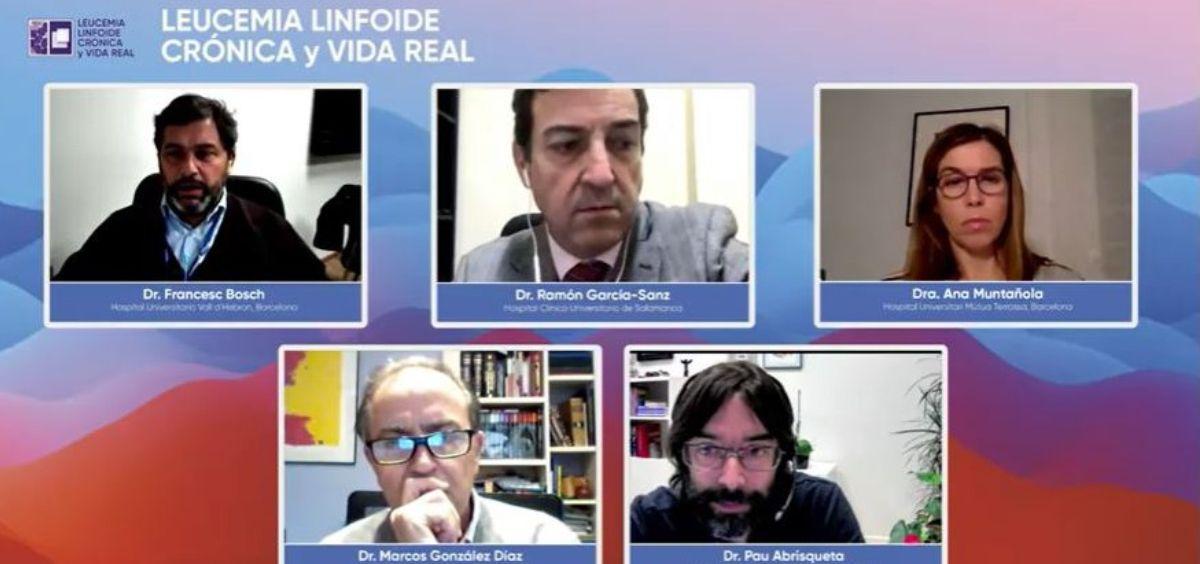 """Seminario on line """"Leucemia linfoide crónica y vida real"""" (Foto. SEHH)"""