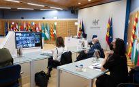 Imagen del Consejo Interterritorial celebrado este miércoles. (Foto. Pool Moncloa / Borja Puig de la Bellacasa)