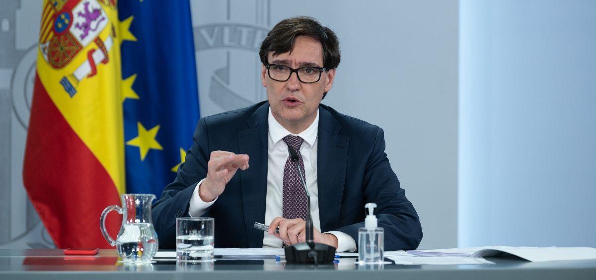 El ministro de Sanidad, Salvador Illa. (Foto: Pool Moncloa / Borja Puig de la Bellacasa)