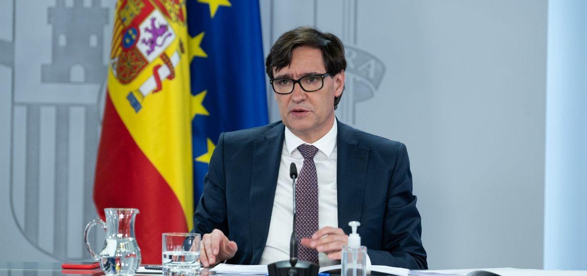 Salvador Illa, ministro de Sanidad. (Foto. Pool Moncloa/ Borja Puig de la Bellacasa)