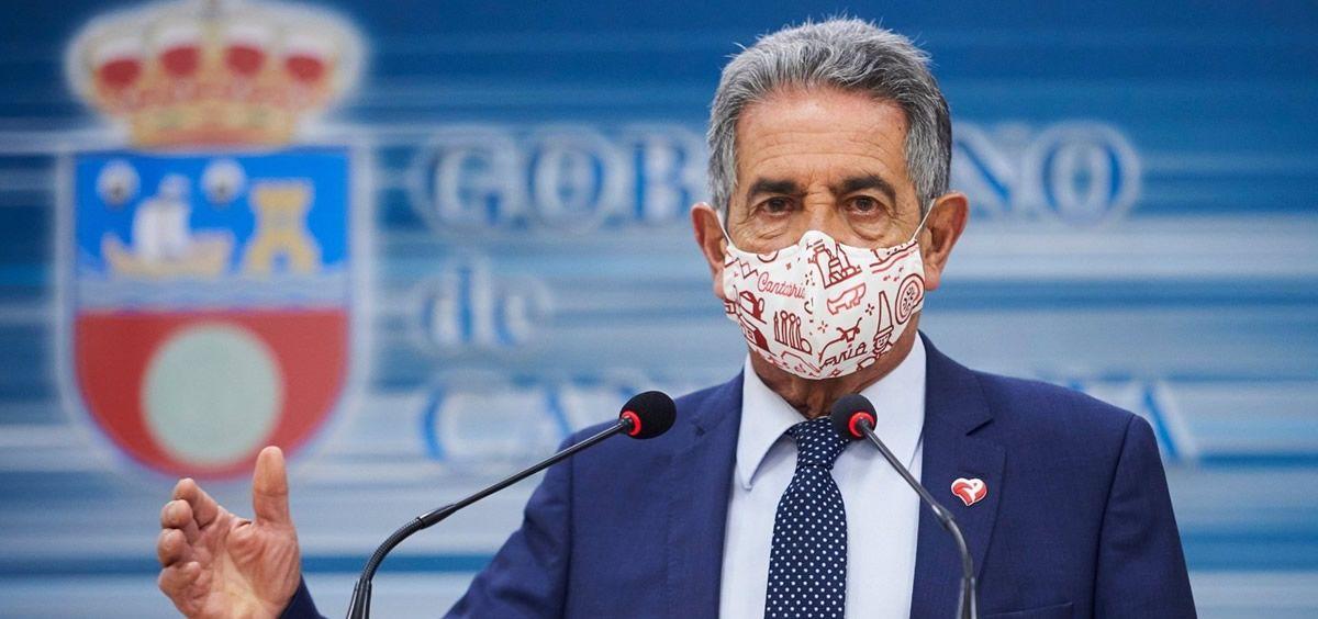 Miguel Ángel Revilla, presidente de Cantabria (Foto. Juan Manuel Serrano Arce EP)