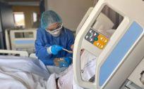 El Colegio de Enfermeras de Valencia pide que se considere automáticamente el Covid-19 como enfermedad profesional (Foto. Europa Press)