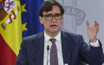 El Ministro de Sanidad, Salvador Illa (Foto. EUROPA PRESS J. Hellín. POOL)