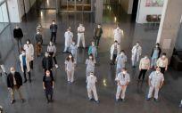 Equipo multidisciplinar del Área Músculo Esquelético (Foto. Hospital de Denia)