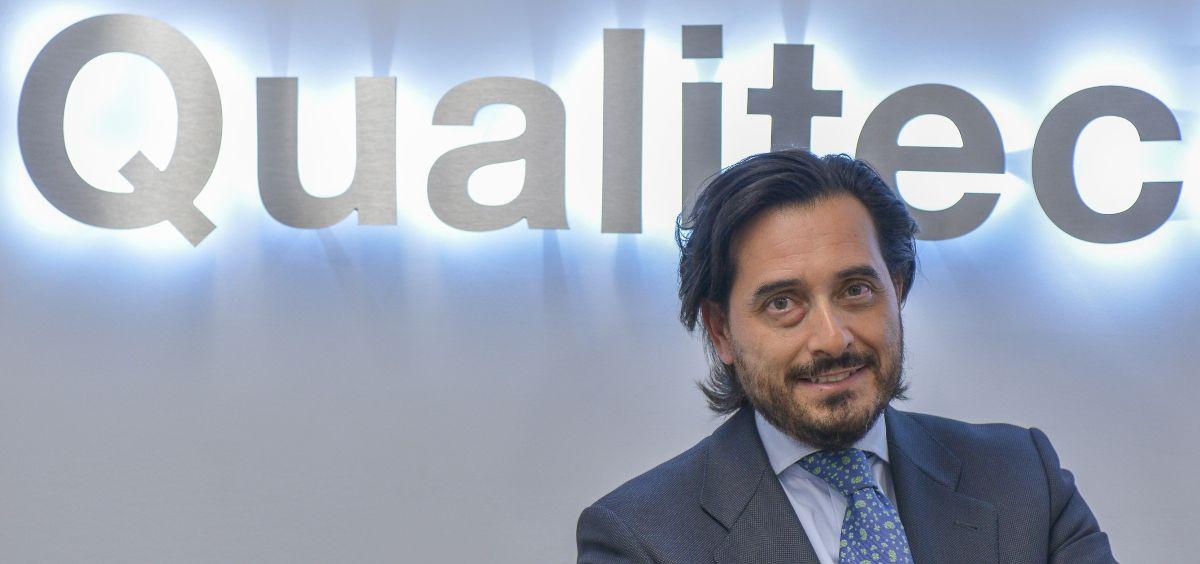 Óscar Mesa del Castillo, CEO de QualitecFarma (Foto. ConSalud.es)