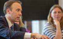 Matt Hancock, ministro de Sanidad británico. (Foto. Gov UK)
