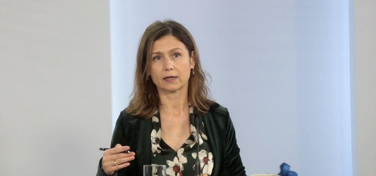 María Jesús Lamas Díaz, directora de la Agencia Española de Medicamentos y Productos Sanitarios (Foto. La Moncloa)