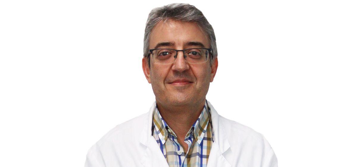 Doctor Manuel Mirón, presidente de la Sociedad Española de Hospitalización a Domicilio (Foto. UHT)