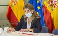 Yolanda Díaz, ministra de Trabajo y Economía Social (Foto: MITES)