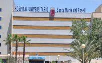 Hospital Universitario Santa María del Rosell, en Cartagena (Foto: @Area2Cartagena)