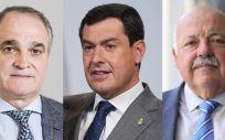 Mingorance, Moreno Bonilla y Aguirre. (Fotomontaje ConSalud.es)