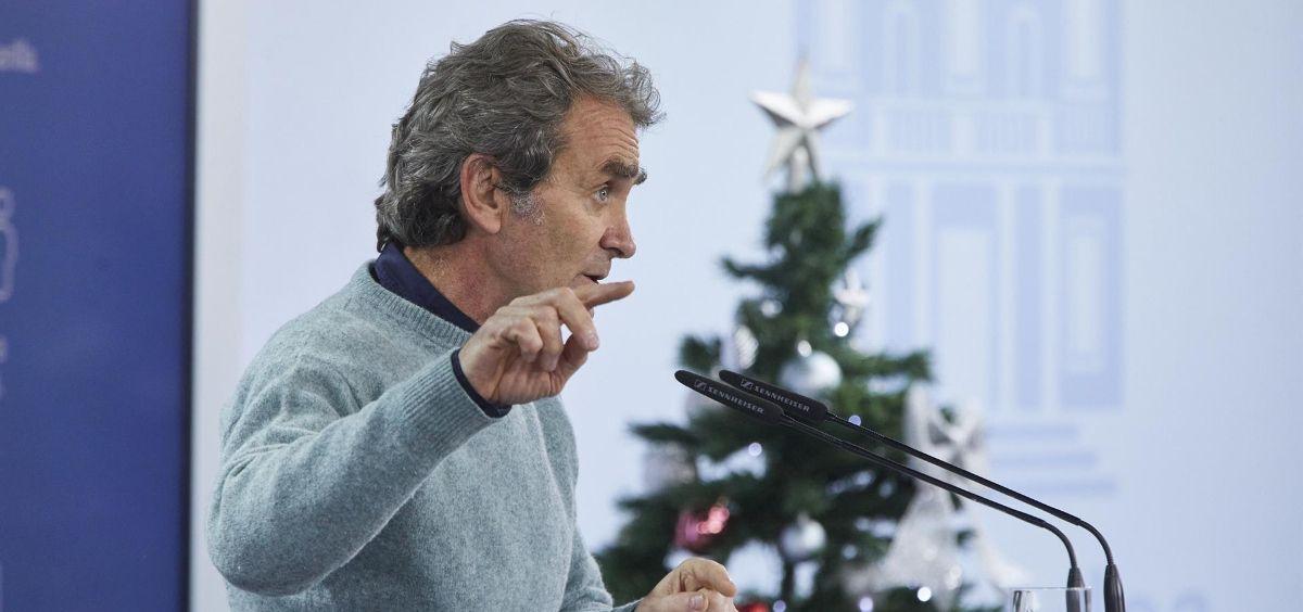 El director del CCAES, Fernando Simón (Foto. EUROPA PRESS J. Hellín. POOL   Europa Press)