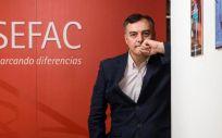 Vicente Javier Baixauli Fernández, presidente de la Sociedad Española de Farmacia Familiar y Comunitaria (Sefac). (Foto. Sefac)