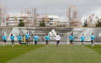 Jugadores del Real Madrid C.F. (Foto. Real Madrid C.F.)