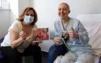 La radio del Hospital de Torrejón con los pacientes