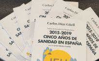 Libro del Instituto Coordenadas  IEH 2015 2019. Cinco años de sanidad en España.