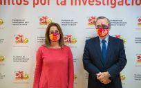 Marta Cardona y Dr. Barbacid