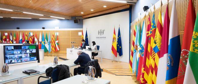 Consejo Interterritorial del Sistema Nacional de Salud. (Foto. Pool Moncloa. Borja Puig de la Bellacas)