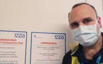 Joan Pons, en las dependencias de Sheffield Teaching Hospitals (Foto: cedida por Joan Pons Laplana)