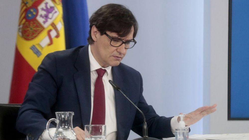El ministro de Sanidad, Salvador Illa (Foto: Pool Moncloa / José María Cuadrado)