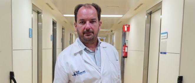 Ricard Ferrer, presidente de la Sociedad Española de Medicina Intensiva, Crítica y Unidades Coronarias (Semicyuc). (Foto. Semicyuc)