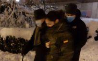 El Ejército traslada a 66 pacientes para diálisis a hospitales de Madrid durante el temporal. (Foto. Europa Press)