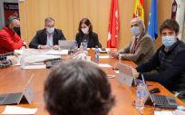 Reunión del Plan Territorial de Protección Civil de la Comunidad de Madrid (Foto: CAM)
