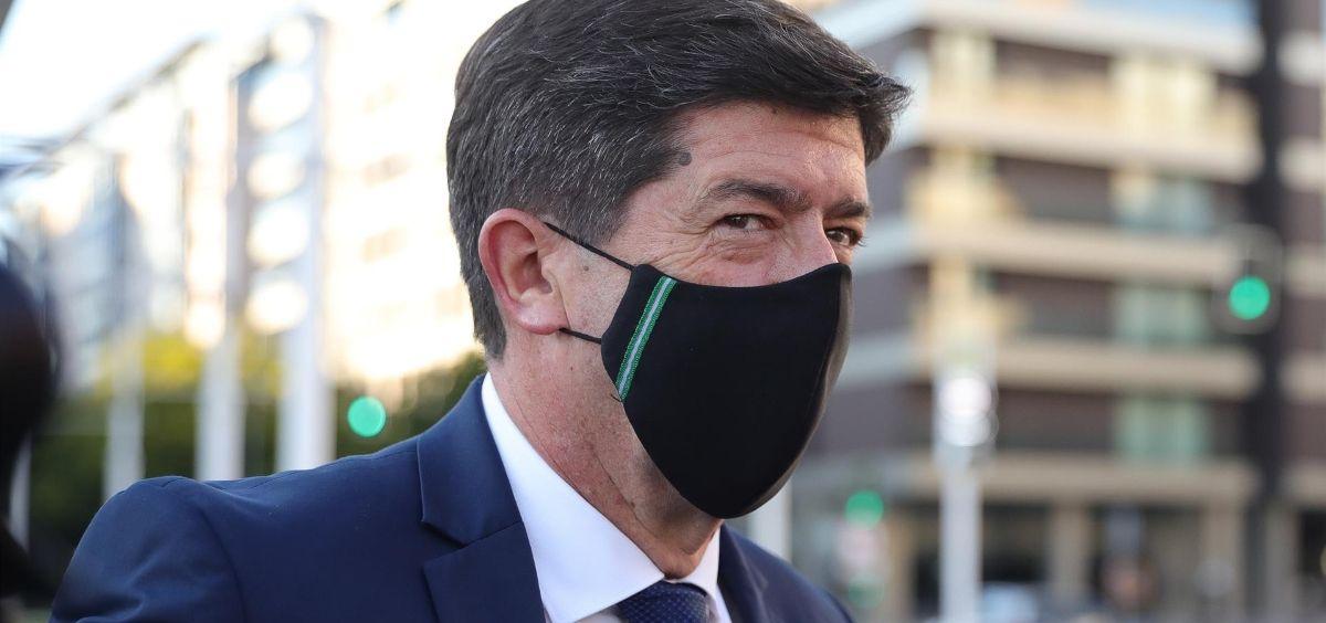 El vicepresidente de la Junta, Juan Marín, en una imagen de archivo. (Foto. MJ LOPEZ)